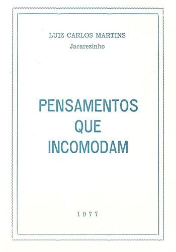 1977 - Livro Pensamentos que Incomodam